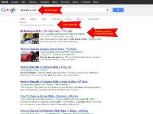 Descale sink Google main #1