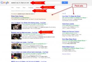 clean an oven Google video #2